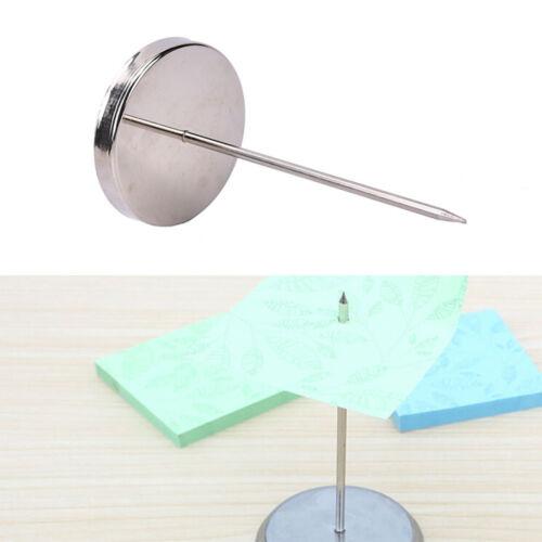 2x Safe Memo Holder Spike Stick for Bill Receipt Note Paper Order Office NR7