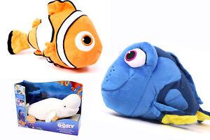 Details zu FINDET DORIE Flüsternde Wellen Kuscheltier mit SOUND Nemo Bailey Dory Stofftier