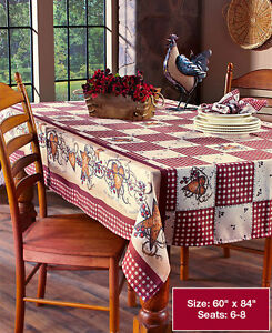 Image Is Loading Primitive Country Hearts Stars Checkered Table Cloth Folk