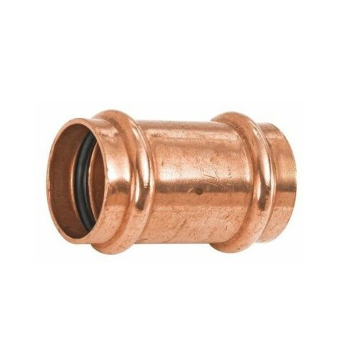"""PPRC0034 Lot of 10-3//4/"""" Propress Copper Coupling With Stops"""