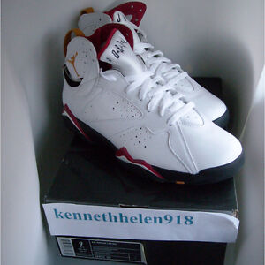 Nuevo Blanco Nike Tama Rojo Vii Negro 7 2006 o 9 Retro Cardenal Jordan Air Bronce 4rgC4qw