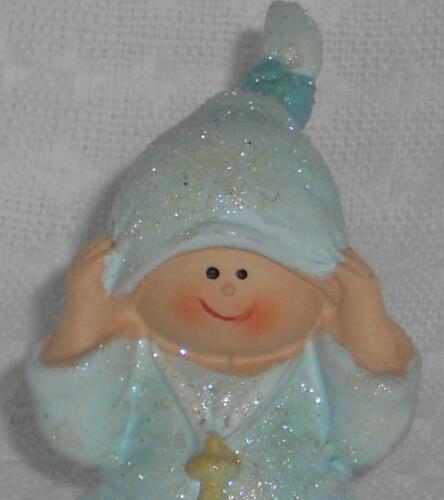 01 azul claro con Glimmer escala 1:12 miniatura arderemos muñecas Tube #20# Mini-Baby