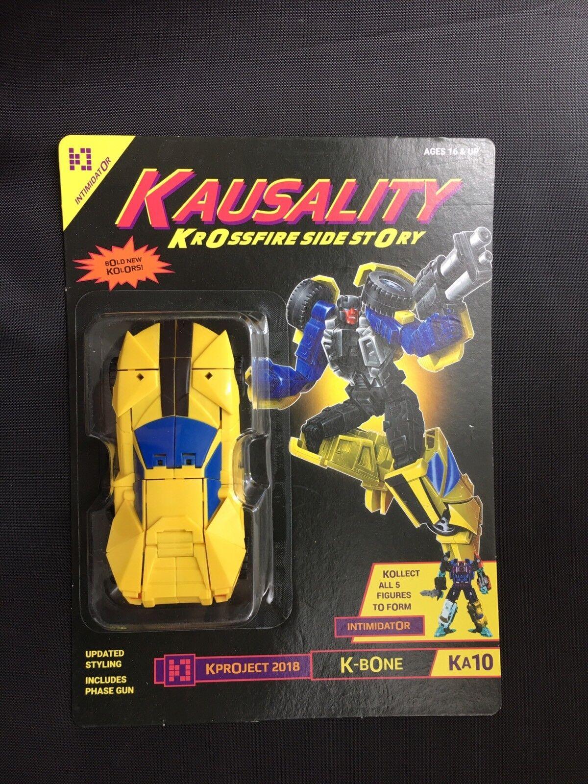sorteos de estadio Transformers Fansproject tfcon kausality KA-10 K-Bone Menasor Dragstrip en en en perfecto estado en Cochetón sellado  precio mas barato