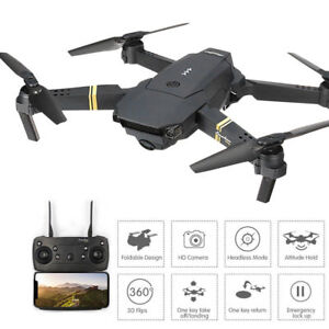 Drone X Pro 2.4g Selfi Wifi Fpv 1080p Camera Foldable Rc Quadcopter 4*batteries Toys & Hobbies