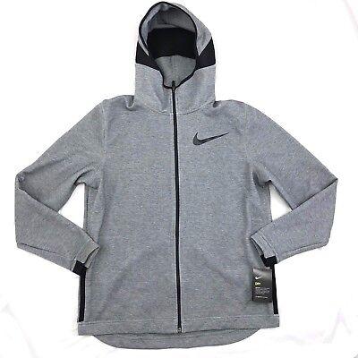 Nike Therma Hyper Elite Men/'s Basketball Hoodie XL Gray Jacket Gym Casual Grey