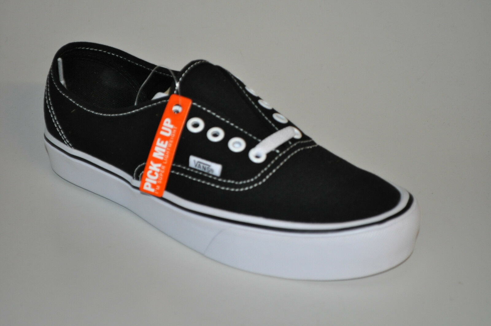 Vans Authentic Lite Canvas vn0a2z5j187 noir blanc noir blanc