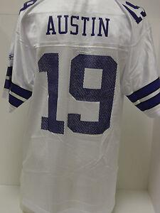 Mens-XXL-2XL-Reebok-Cowboys-Miles-Austin-19-White-Jersey-NFL-Football-Equipment
