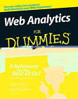 Web Analytics for Dummies by Jennifer LeClaire, Pedro Sostre (Paperback, 2007)
