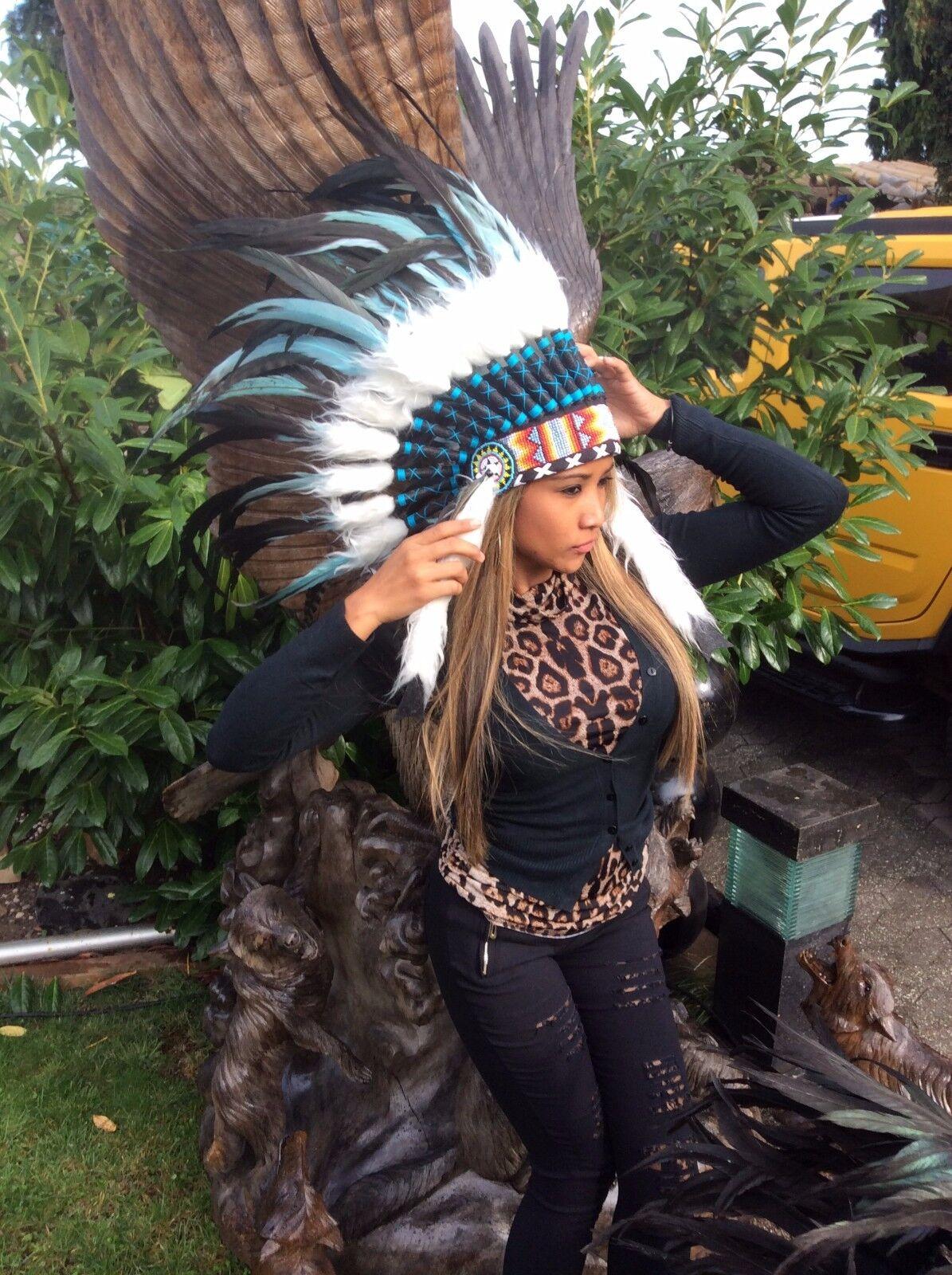 Ressort hotte, missjava, était Bonnet, Indian Indienne, Headdress, Coiffe Indienne, Indian Squaw, Pocahontas d38a60