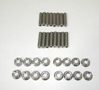 Ford Fe 390 - 428 Stainless Steel Exhaust Manifold Studs 2 Long