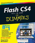 Flash CS4 All-in-one for Dummies by Doug Sahlin, William B. Sanders (Paperback, 2008)