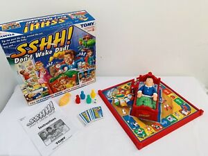 TOMY-2002-Sshh-Don-039-t-Wake-Dad-Board-Game-Complete
