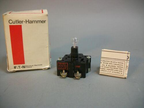 Pull Operation 10250T63 NEW CUTLER-HAMMER Light Module Push