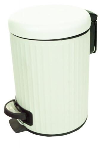 Metal 3Lt Waste Rubbish Pedal Bin