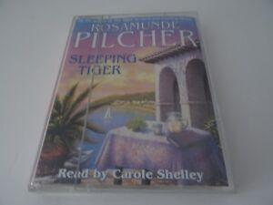 Sleeping-Tiger-by-Rosamunde-Pilcher-Audio-cassette-1997
