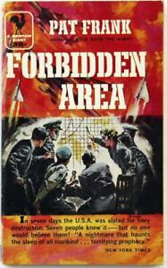 The-Forbidden-Area-by-Pat-Frank-1957-Bantam-Paperback-A1553