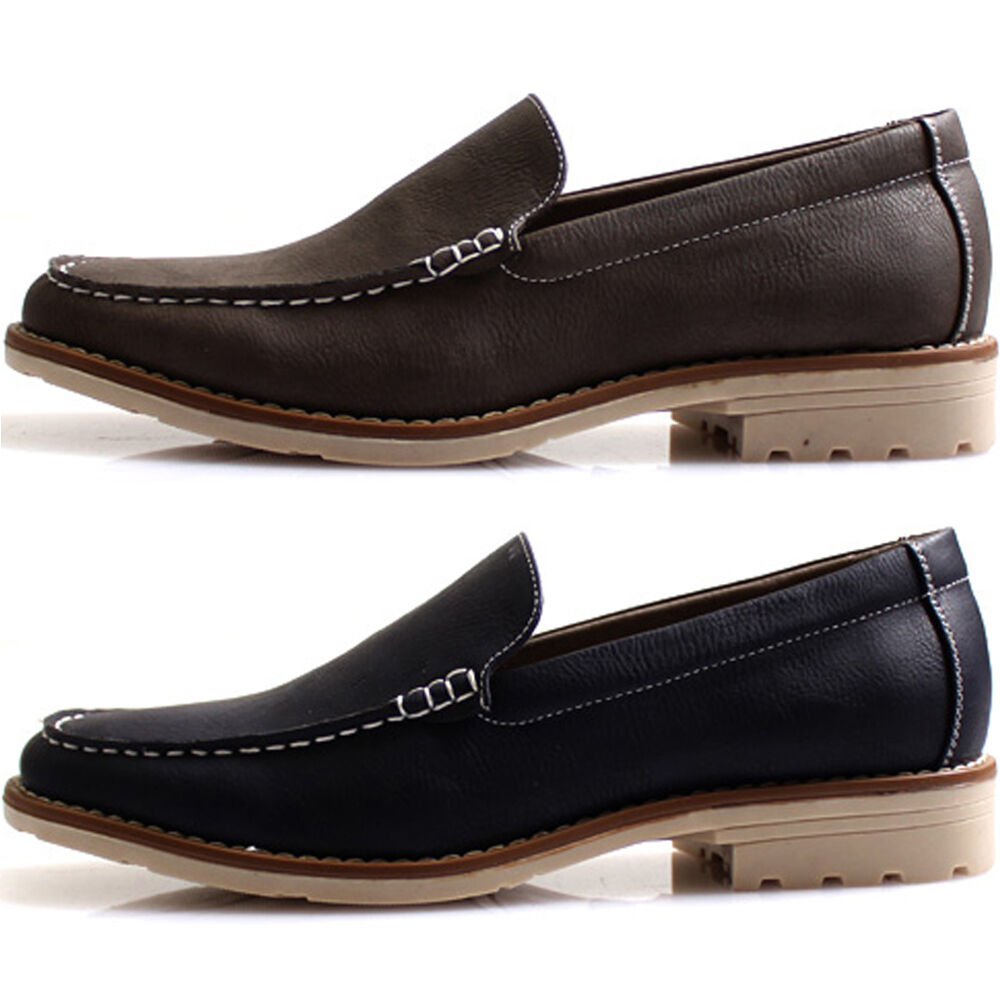 New Mooda Simple Loafers Fashion Slip on Sneakers Men Casual Dress Shoes