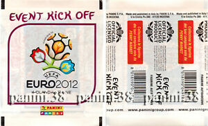 RARE-Pochette-034-EVENT-KICK-OFF-UEFA-EURO-2012-034-bustina-packet-tute-PANINI