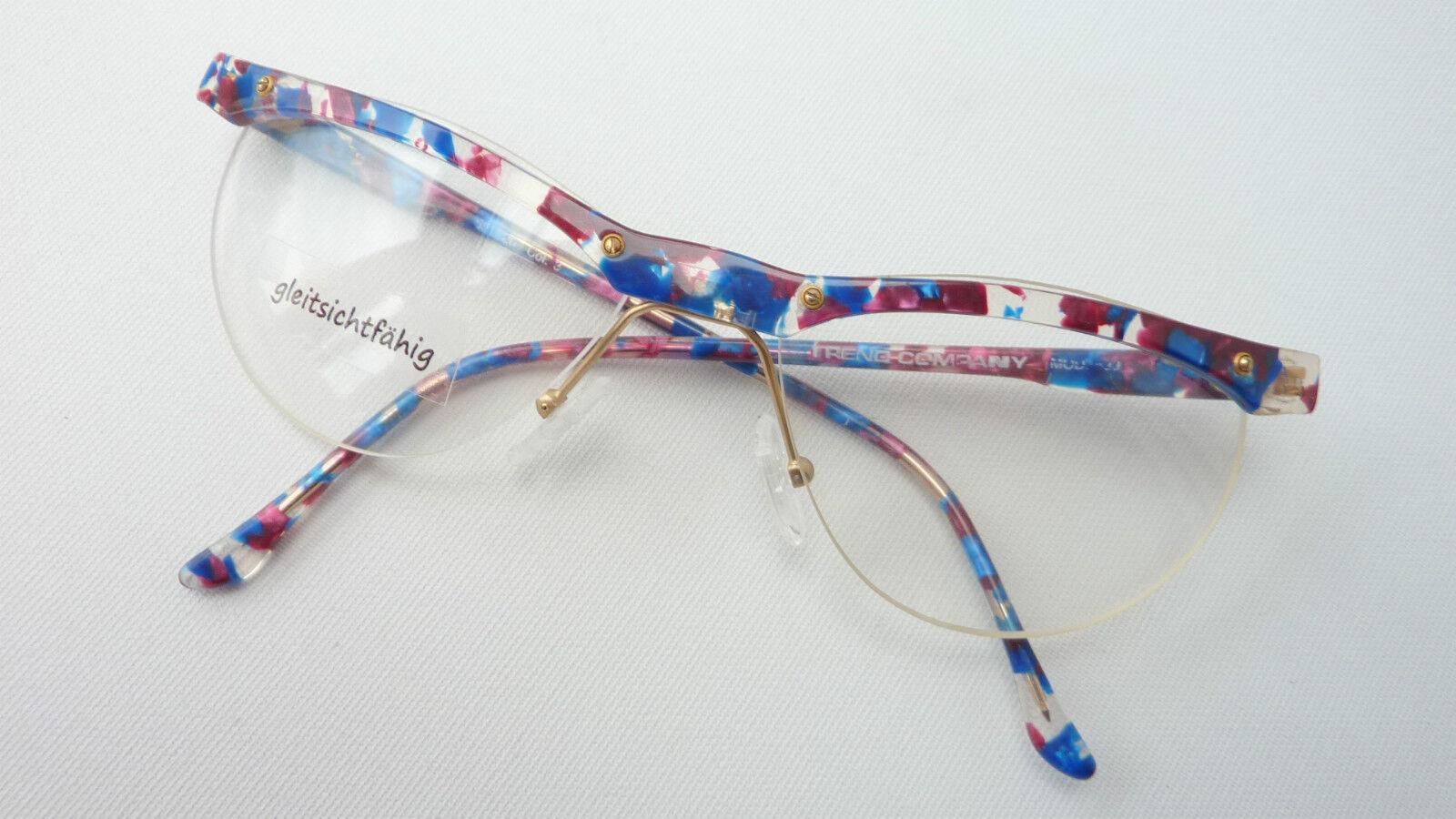 Trend Company bunte Damen Balkenbrille  Plastikrand oben     Halbrand 56-20 Gr. M  | Gewinnen Sie das Lob der Kunden  | Mode-Muster  | Qualitätsprodukte  7cf222
