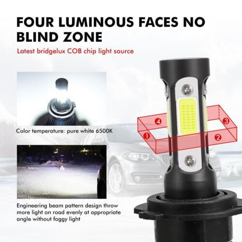 H7 LED Headlight Kit for Volvo XC70 XC90 C70 S40 S60 S80 V40 V70 H//Lo Beam 6000K