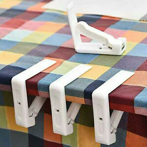 Image Is Loading 4Pcs Set Tablecloth Clips Spring Loaded Clamp Party