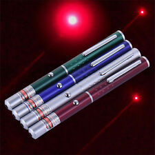 650nm Powerful Visible Light Beam Red Focus Burning Laser Pointer Pen Burn