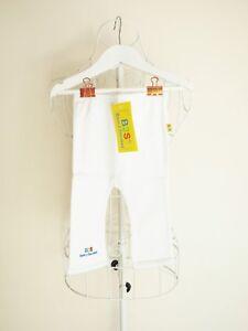 034-Born-to-Succeed-034-Size-00000-Gorgeous-Girls-Cotton-White-Leggings-BNWT-Bargain