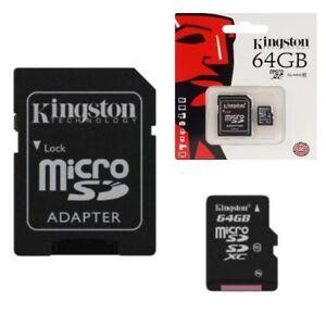 Carte-Memoire-Micro-SD-64-Go-classe-10-Pour-Sony-Xperia-X