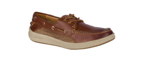 Sperry gold Cup Gamesfish 3 EYE Brown Boat shoes Men's sizes 7-13 NEW