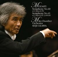 Mozart / Seiji Ozawa - Mozart: Symphonies 40 & 41 Jupiter [new Cd] Blu-spec Cd 2 on sale