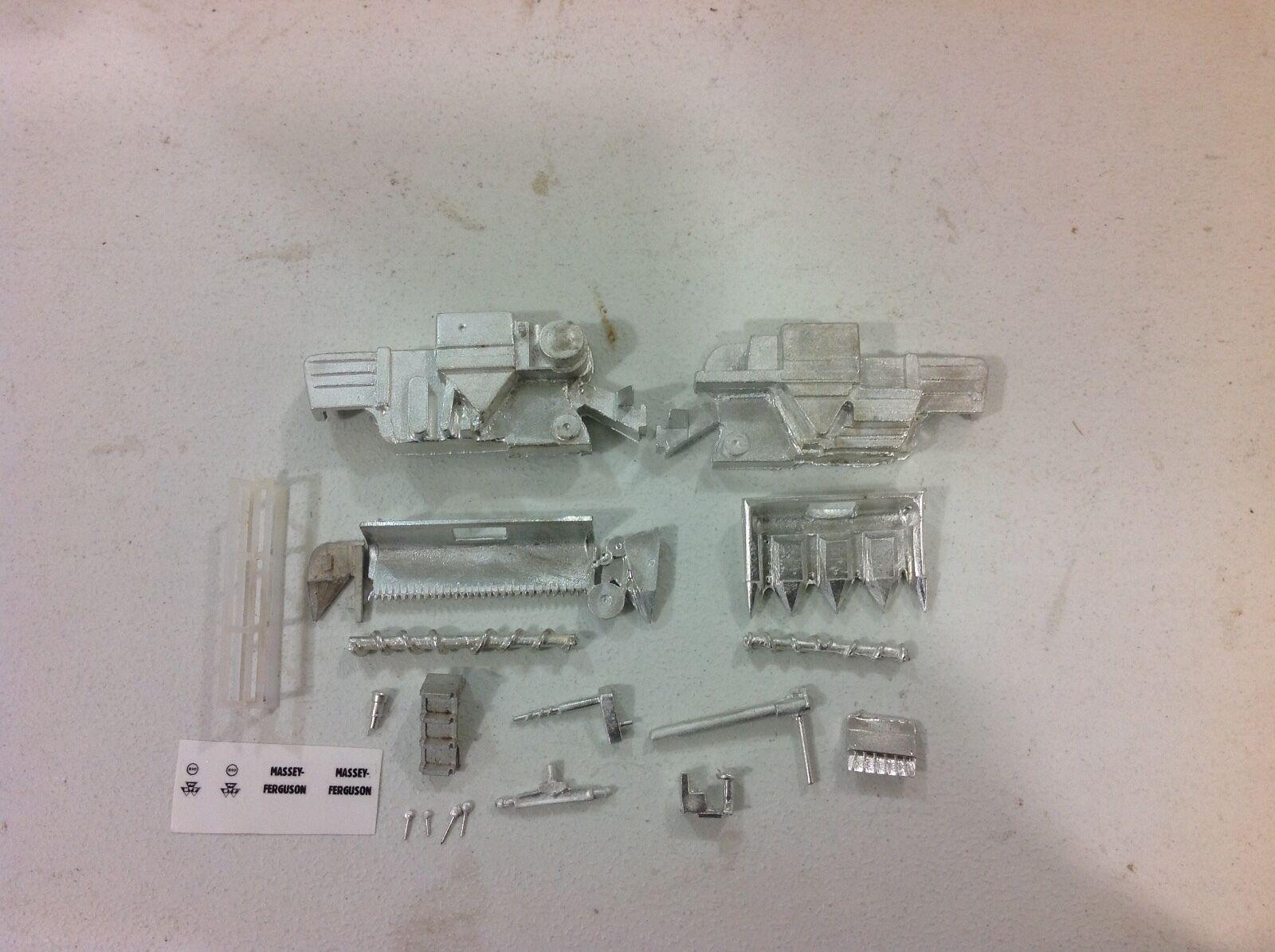 Personalizado 1 64 Estación de Todo Metal Massey 410 abierto combinan Kit por C&D Envío Gratuito