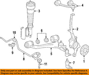 Mercedes-Benz FRONT LEFT OR RIGHT LOWER BALL JOINT UNIT  2113300335