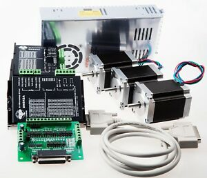 Details about Free Ship 3 axis Nema 23 stepper motor 270 oz.in & Driver on
