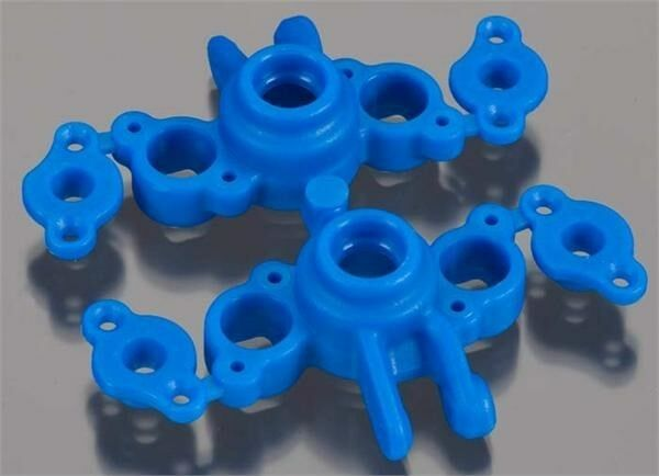 Axle Carriers Blue Traxxas 1//16 Slash and E-Revo by RPM Product RPM73165
