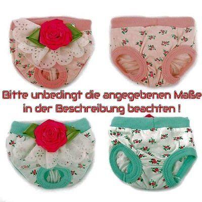Trendmarkierung Schutzhöschen Menstruationshöschen Hunde Menstruation Größen S-m Türkis/rosa Vertrieb Von QualitäTssicherung