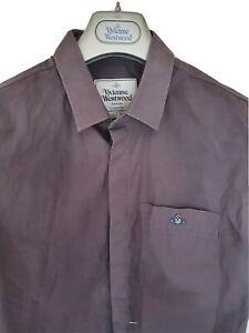 Mens-MAN-by-VIVIENNE-WESTWOOD-short-sleeve-shirt-size-50-medium-RRP-260