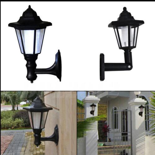LED Light Path Way Wall Landscape Mount Garden Fence Outdoor  Light sensor Lamp
