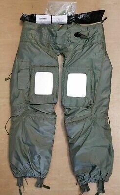 Genuine British RAF RFD Beaufort Jet Pilots Inflatable Foot Bladders Anti G NEW