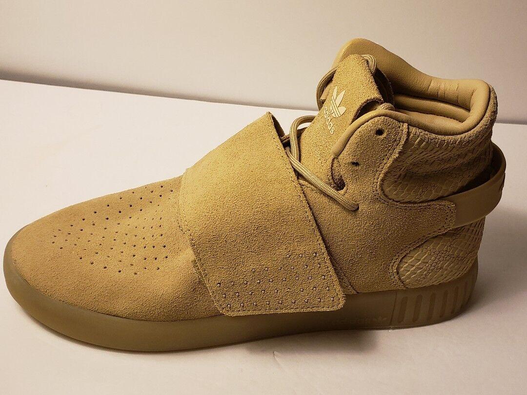 Adidas Original BY3737 Women shoes Tubular Invader Strap Fashion Sneakers sz 9.5