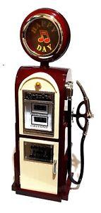 Spieldosen & Spieluhren Bright Schöne Nostalgie Tankstelle Zapfsäule Musik Spieluhr Ketten Schmuckkasten Neu Spare No Cost At Any Cost