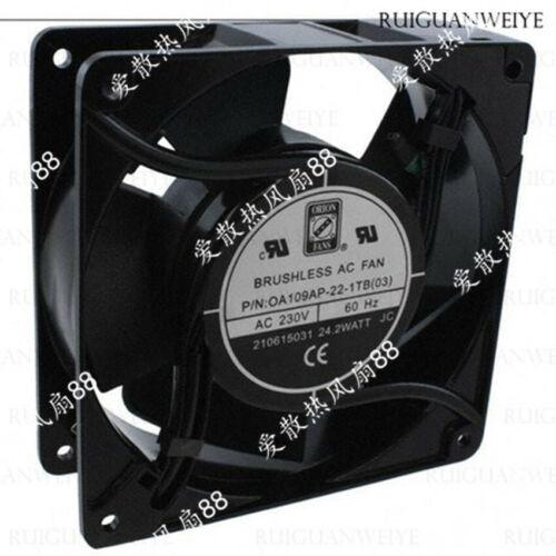 1pc new fan freeship OrionFans OA109AP-22-1TB SF230VAC17//15W 12cm