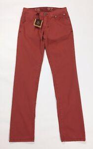 9-2-carlo-chionna-pantalone-slim-fit-w31-tg-44-45-rosa-trousers-nuovo-uomo-T2318
