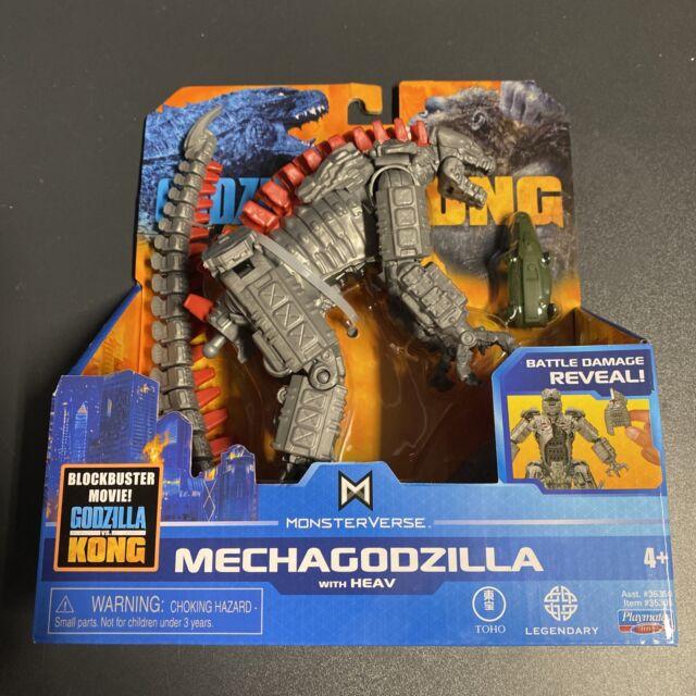 """MonsterVerse Godzilla VS Kong: MechaGodzilla With HEAV 6"""" Battle Reveal Figure"""