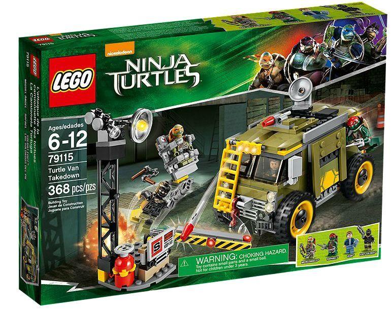 LEGO ® Teenage Mutant Ninja Turtles 79115 Turtle Van Takedown Neuf New En parfait état, dans sa boîte scellée Boîte d'origine jamais ouverte