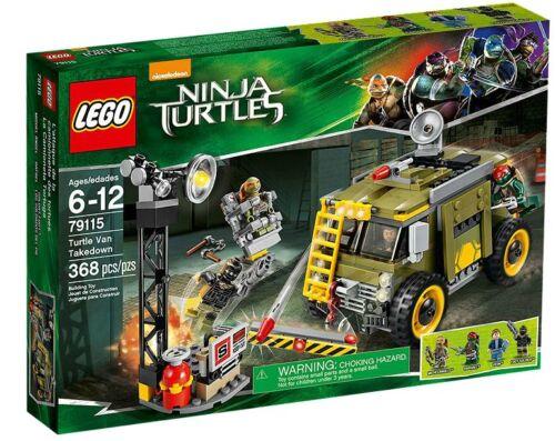 LEGO ® Teenage Mutant Ninja Turtles 79115 Turtle Van Takedown NUOVO NEW MISB NRFB
