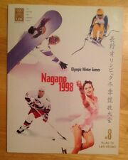Nagano 1998 Olympic Winter Games The Official CBS Viewers Guide KLAS TV
