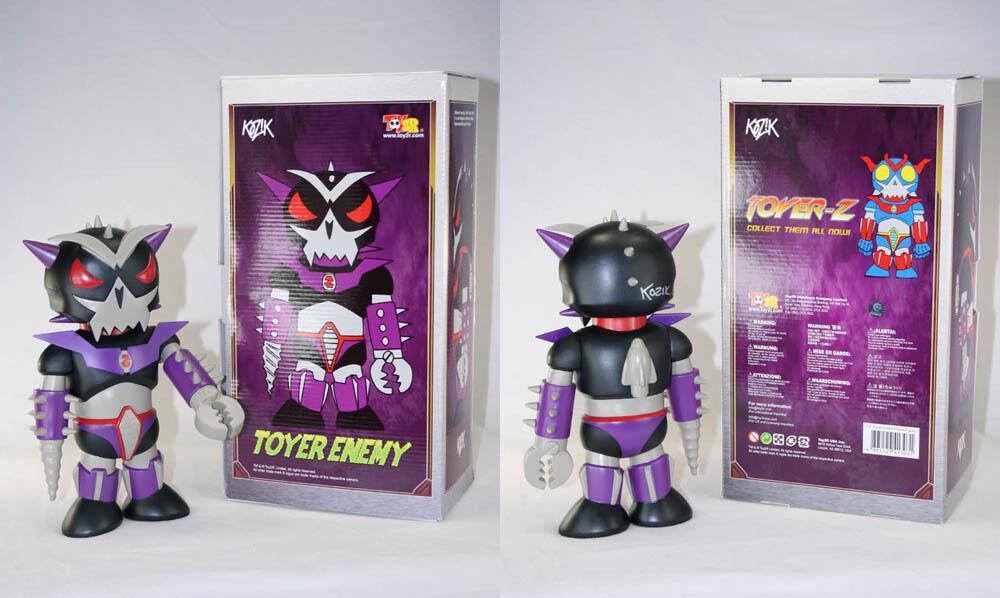 Frank Kozik signé Toy2R 11  Toyer ennemi Limited Edition 500 Figure autographié New in Box