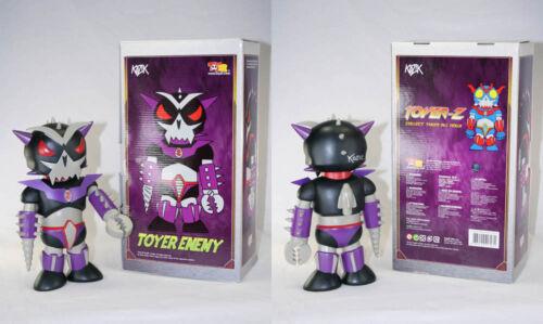 "Frank Kozik signé Toy2R 11/"" Toyer ennemi Limited Edition 500 Figure autographié New in Box"