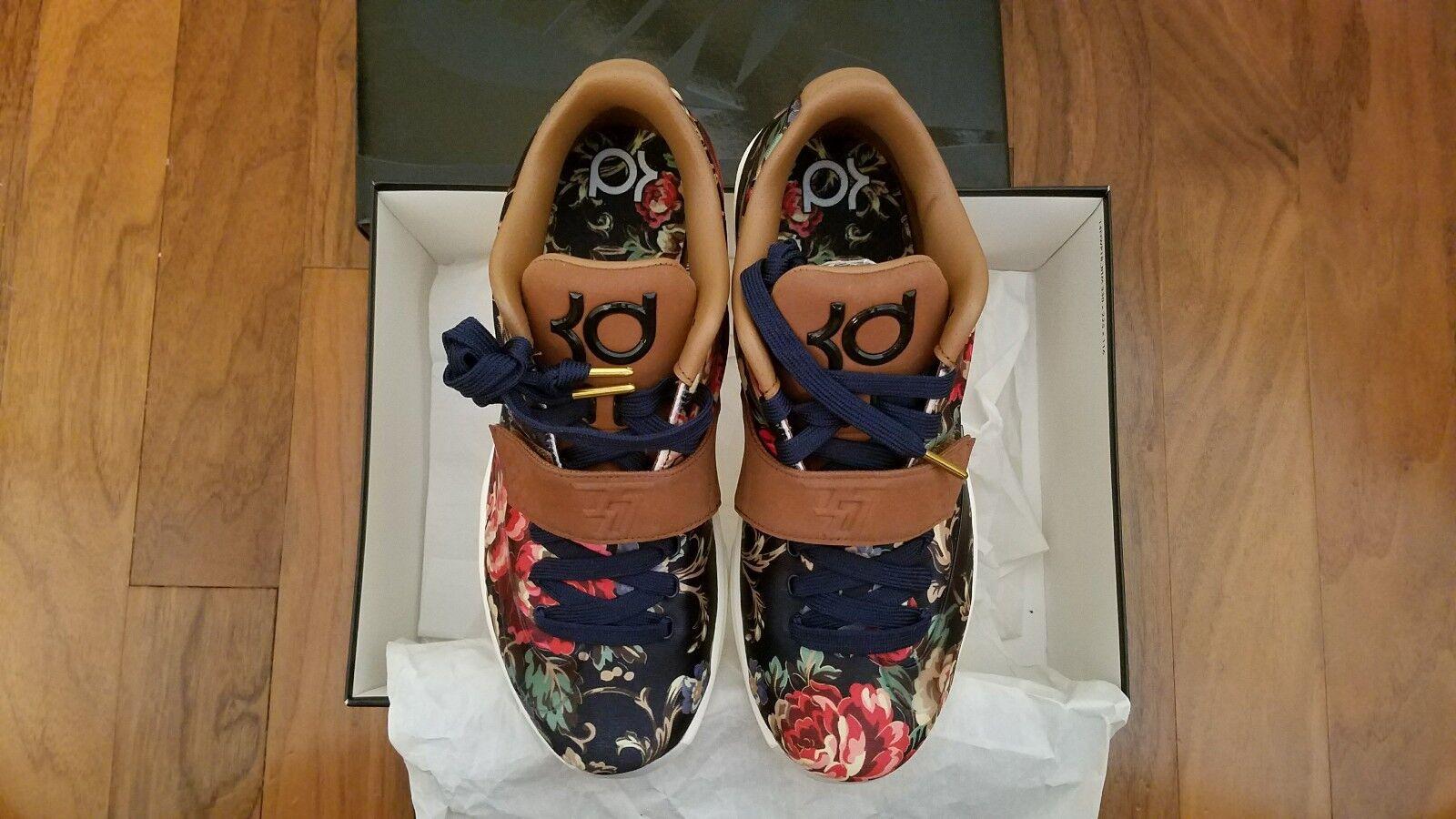 Nike kd 726438-400 vii 7 ext floral - 726438-400 kd größe 7,5 versandkostenfrei! 5035af
