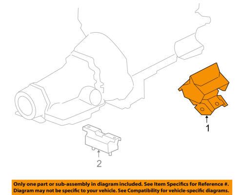 GM OEM-Engine Motor Mount//Torque Strut 15854939